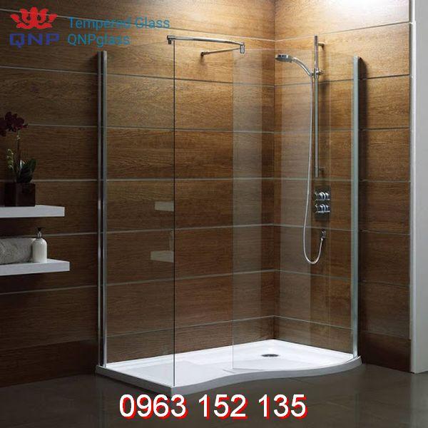 Thi công phòng tắm kính cửa lùa chuẩn chất lượng