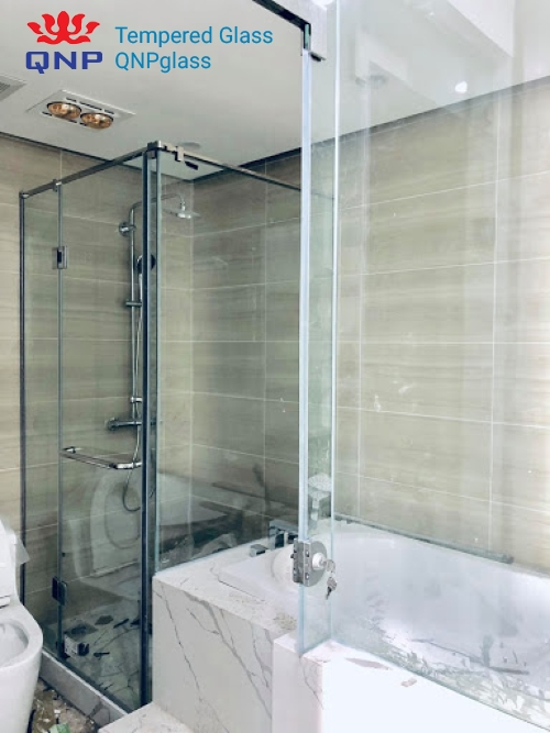 Vách tắm kính cao cấp