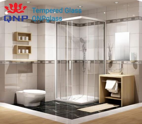 cách vệ sinh phòng tắm kính